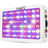 Niello 300w Lampada per Coltivazione, Serie con Lenti ottiche LED, Spettro Completo con UV Adatto alla Coltivazione Indoor per Fase vegetativa e fioritura
