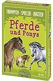 moses. Trumpfen Spielen Quizzen Pferde und Ponys | Kartenspiel für Kinder ab 8 Jahren