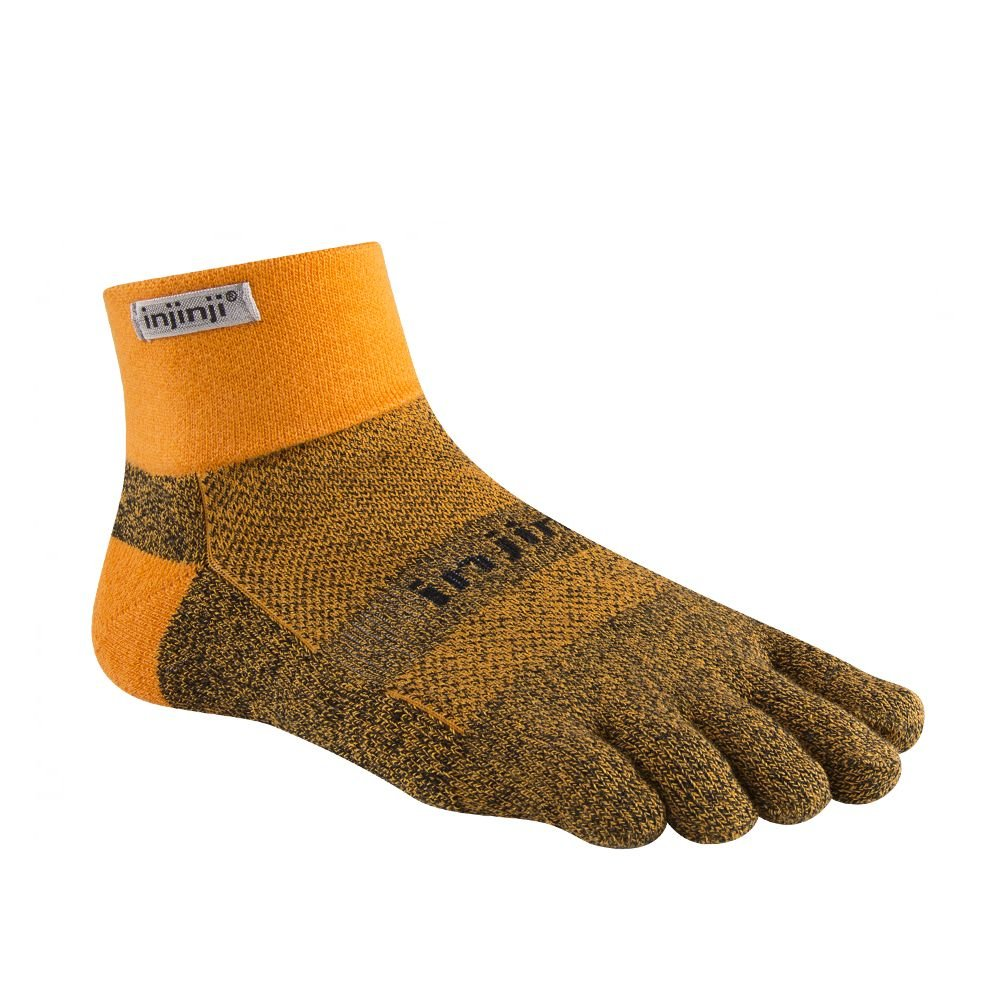 The Run Midweight toesock is perfect for those who prefer a thicker sock with an extra layer of prot