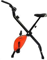 Kobo Magnetic Exercise Bike/Exercise Cycle X-Bike Folding (Orange)