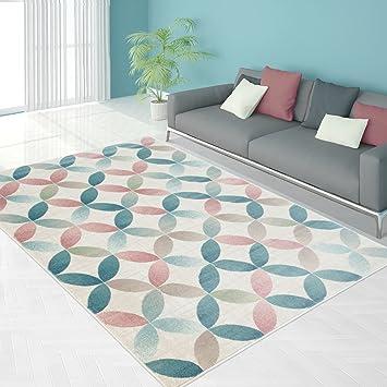 Teppich Modern Designer Wohnzimmer Schlafzimmer Lufer Inspiration Net Pastell Multi Braun NEU Grsse In Cm200 X 290 CmFarbeMulti Amazonde Kche