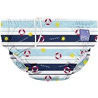 Bambino Mio, Reusable Swim Nappy, All Aboard, Small (0-6 Months)