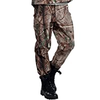 Tactical Waterproof Soft Shell Pants Men Winter Windproof Warm Camouflage Fleece Military Trousers Army Hunt Camouflage…