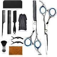 Wrei Haarschere Set,11 pack Scharfe Friseurscheren friseur schere ausdünnen Haarschnitt Modellierschere mit…