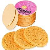 50 pz Spugne per Viso Compresse, Spugne per Viso in Cellulosa GAINWELL, Spugne Cosmetiche SPA 100% naturali per la Pulizia de
