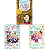 The Magic of the Lost Temple + Grandma's Bag of Stories + How I Taught My Grandmother to Read: And Other Stories(Set of 3 Boo