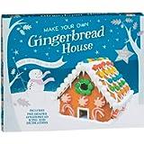 Gingerbread House 675g, nuovo delizioso e divertente Crea il tuo kit per la casa di marzapane, Confezione da 2