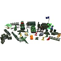 FunBlast Pretend Play Special Force Battlefield Army Military Play Set Toys for Kids with Mat, Role Play Toys for Boys…