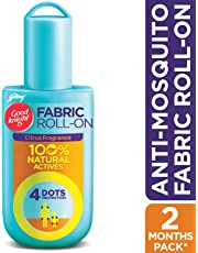 Good Knight Fabric Roll On Personal Repellent, 8 ml (Citrus)