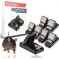 TK Gruppe Timo Klingler 6X Mausefalle Mousetrap Schlagfalle wiederverwendbar Falle für Maus, Ratte - Mäusefalle…