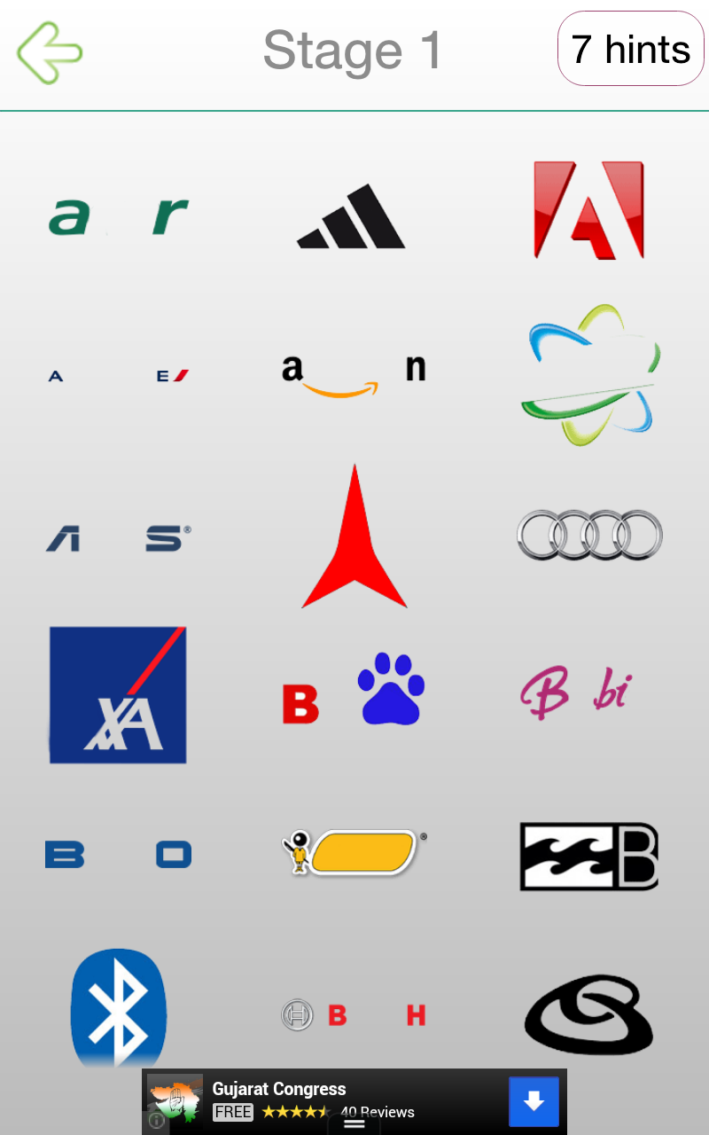 Shoes logo quiz