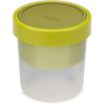 Contenitore per Zuppa Joseph Joseph GoEat / Barattolo salva-spazio per zuppa / Coperchio in silicone a prova di perdite / 600ml / 300ml