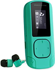 Energy Sistem MP3 Clip (Mp3 Player, MP3 music player with LCD screen, 8 GB, microSD card, FM radio and in-ear earphones inclu