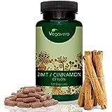 Vegavero® Cannelle de Ceylan | 120 Gélules | Extrait Fortement Dosé à 8:1 | Équivaut à 2000 mg de Cannelle par Gélule | Zéro Additif | Cure De 4 mois | 100% Vegan & Naturel