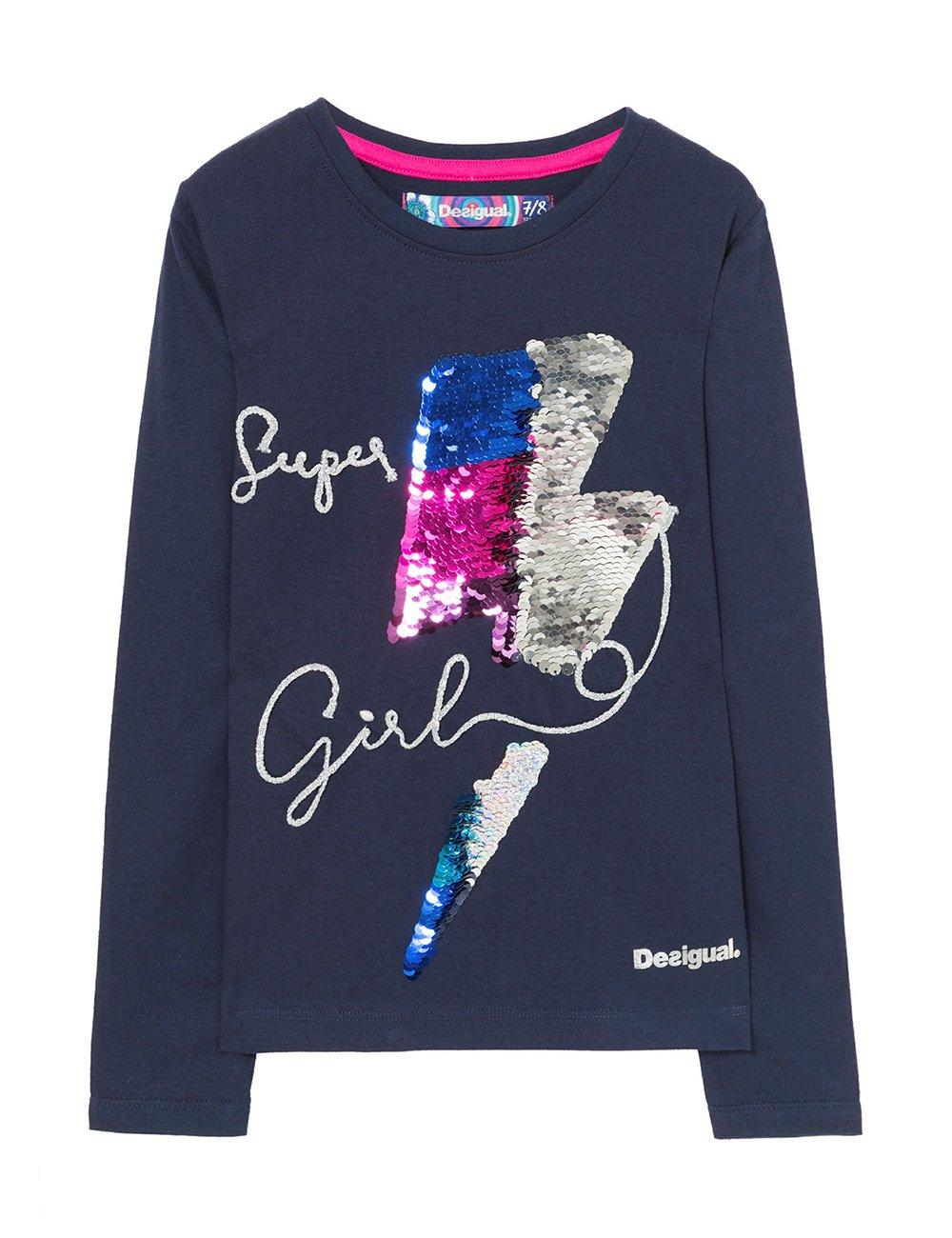 Desigual TS_Hamilton Camisa Manga Larga para Niñas