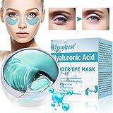 Mascara Para Los Ojos, Ojos Parches, Eye Mask, Máscara para ojos de colágeno, Parches Hidrogel para Ojos, Reduce las bolsas b