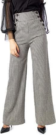 Rinascimento Pantaloni Donna Pied Poule cfc0095069003