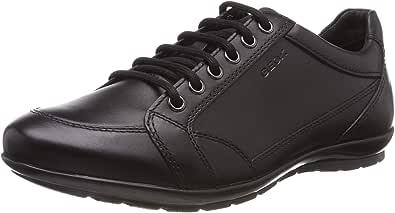 Geox U Symbol D - Smooth Leather Men's Derby