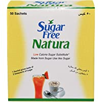 Sugar Free Natura Sachet - 0.75g (Pack of 50 Sachets)