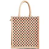 H&B Jute bags for lunch | Jute bags with zip | Jute Tote Bag | Jute Tiffin Bags | Printed Jute Bag | jute carry bag | Jute ba