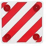 HP-Autozubehör 25136 waarschuwingsbord speciale lasten, rood/wit met reflectoren