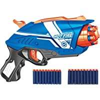 SHANBUYERS - Xplore the Unxplored Blaze Storm Soft Bullet Gun Toy Shooting Pistol with 20 Soft Foam Bullets and Suction…