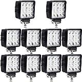 10x Las luces LED resistente al agua Spotlight IP65 48W luz de trabajo del Lampara de coche Faros de trabajo puerta del Foco