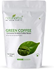 Neuherbs Green Coffee Beans for Weight Loss 400g