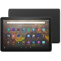 Das neue Fire HD 10-Tablet | 25,6 cm (10,1 Zoll) großes Full-HD-Display (1080p), 32 GB, schwarz – mit Werbung
