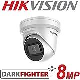 HIKVISION 8MP IP POE CCTV DOME TURRET CAMERA 4K UHD HD 2.8MM OUTDOOR DARKFIGHTER
