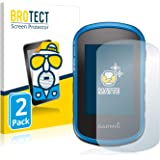 BROTECT 2X Entspiegelungs-Schutzfolie kompatibel mit Garmin eTrex Touch 25 Displayschutz-Folie Matt, Anti-Reflex, Anti-Fingerprint