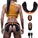 ZHENROG Electroestimulador Muscular Gluteos,EMS Gluteos Estimulador,HipTrainer,Estimulador Muscular Ejercitar Gluteos USB Rec
