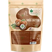 Bliss of Earth® Organic Ivory Shea Butter 1kg For Skin Raw & Unrefined African, Great For Face, Skin, Body, Lips, DIY…
