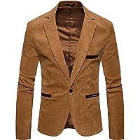 Kamao Men's Blazers, Mens Lightweight Blazer 1 Button Slim Fit Suit Jacket Party Casual Chic Smart Blazers, Boys' Suits…