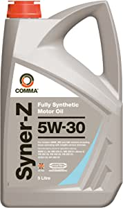 Comma Syz5l 5l Syner Z Fully Synthetic 5w30 Motor Oil Auto
