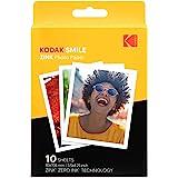 Kodak 3,5 x 10,8 cm premium zink tryck fotopapper (10 ark) kompatibel med Kodak Smile Classic Instant Camera