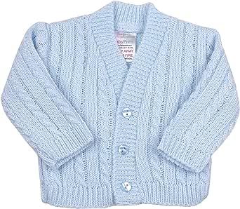 Babyprem Premature Baby Cardigan Jacket Cable Knit Acrylic 3-8lb