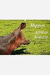 Hippos - Afrikas Kolosse (Wandkalender 2021 DIN A3 quer) Kalender