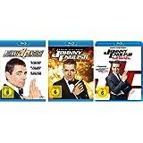 Johnny English Set: 1 + 2 - Jetzt erst recht + 3 - man lebt nur dreimal - Deutsche Originalware [3 Blu-rays]