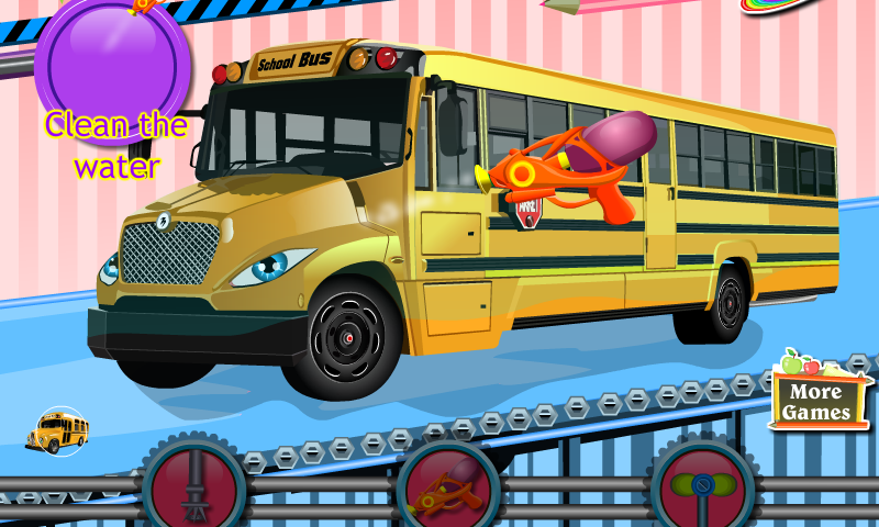 Schulbus Spiele
