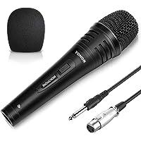 TONOR Microfono Dinamico Professionale 4,8m Cavo per DVD/TV/KTV Audio/Risuonatore