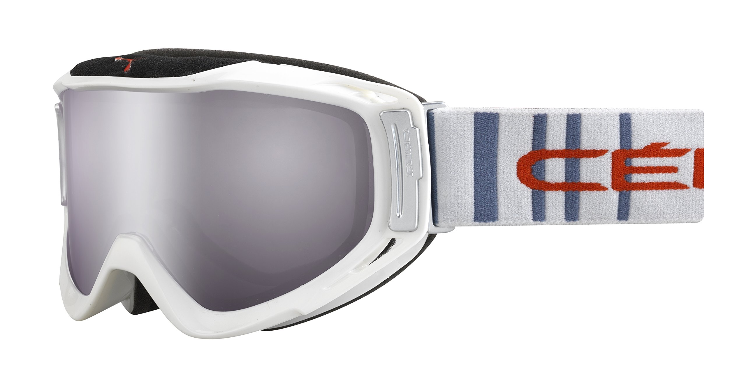 Cébé Skibrille Legend Light Flash Mirror, Grau/Rot, L, CBG44