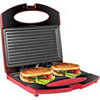 OZAVO Toaster Croque Monsieur 3 en 1 Appareil Panini Grill Antiadhésive 750W Sandwich Maker Presse à Panini | 22 x 22 x…