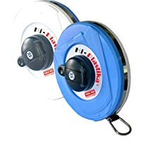 Freemans Measures Microfiber Hi-Plastika Measuring Tape, 30 Meter, multicolor