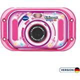 VTech 80-163554 Kidizoom Touch 5.0 Pink Children's Digital Camera for Children Digital Camera Multi-Coloured