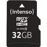 Intenso Micro SDHC 32GB Class 10 Speicherkarte inkl. SD-Adapter
