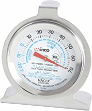 Winco Dial Freezer/Refrigerator Thermometer 2 inch -- 1 each.