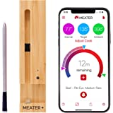 New MEATER+ 50 metre Long Range Smart Wireless Meat Thermometer for the Oven Grill Kitchen BBQ Smoker Rotisserie with Bluetooth and WiFi Digital Connectivity