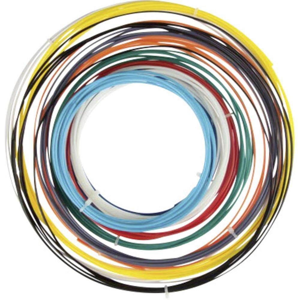 Velleman PLA 1.75mm de diamètre Filament 6Assortiment de Couleur pour imprimante 3D et Stylo 3D