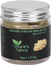 Nature's Tattva Organic Unprocessed Raw Shea Butter, 50g